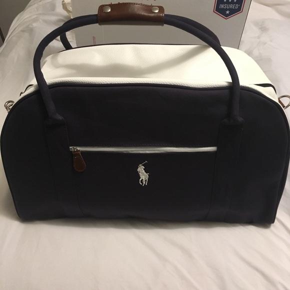 99f78345f2ef2 Ralph Lauren Polo Duffle Travel Bag 💼
